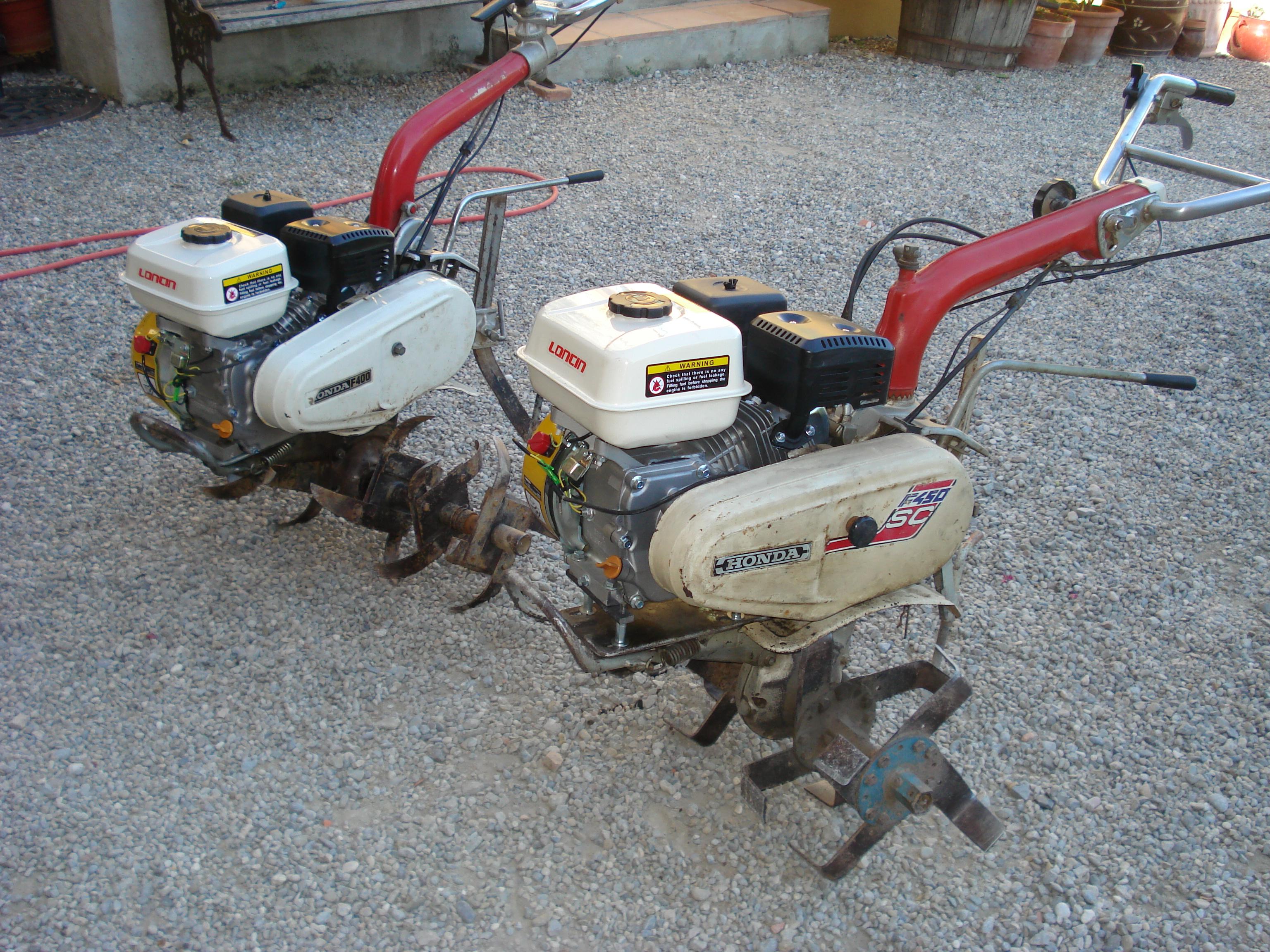 Prix motoculteur honda f400 occasion