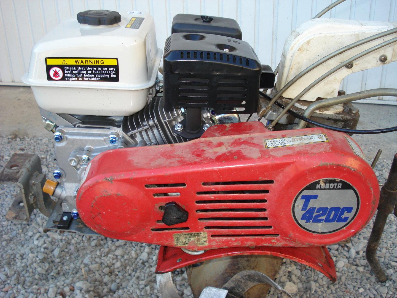 kit moteur remplacement pour motoculteurs kubota avec
