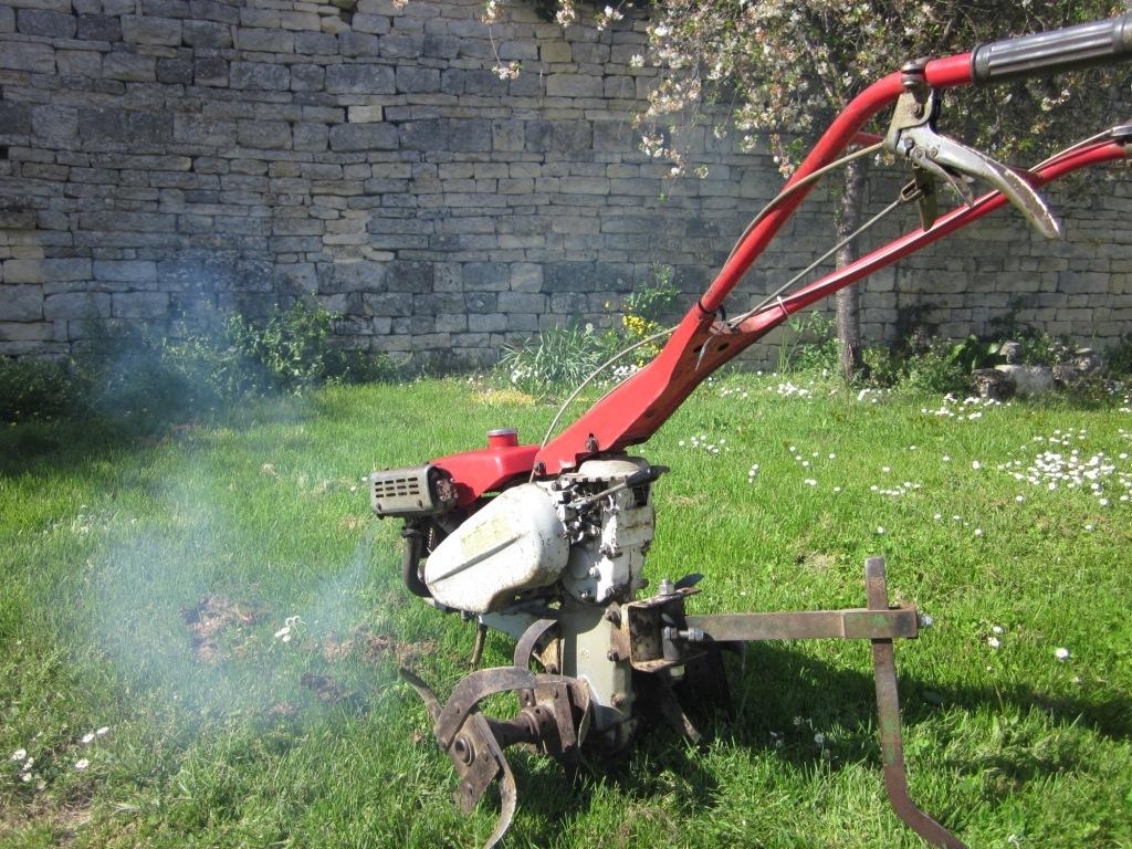 Motoculteur staub occasion for Fraise pour motoculteur staub