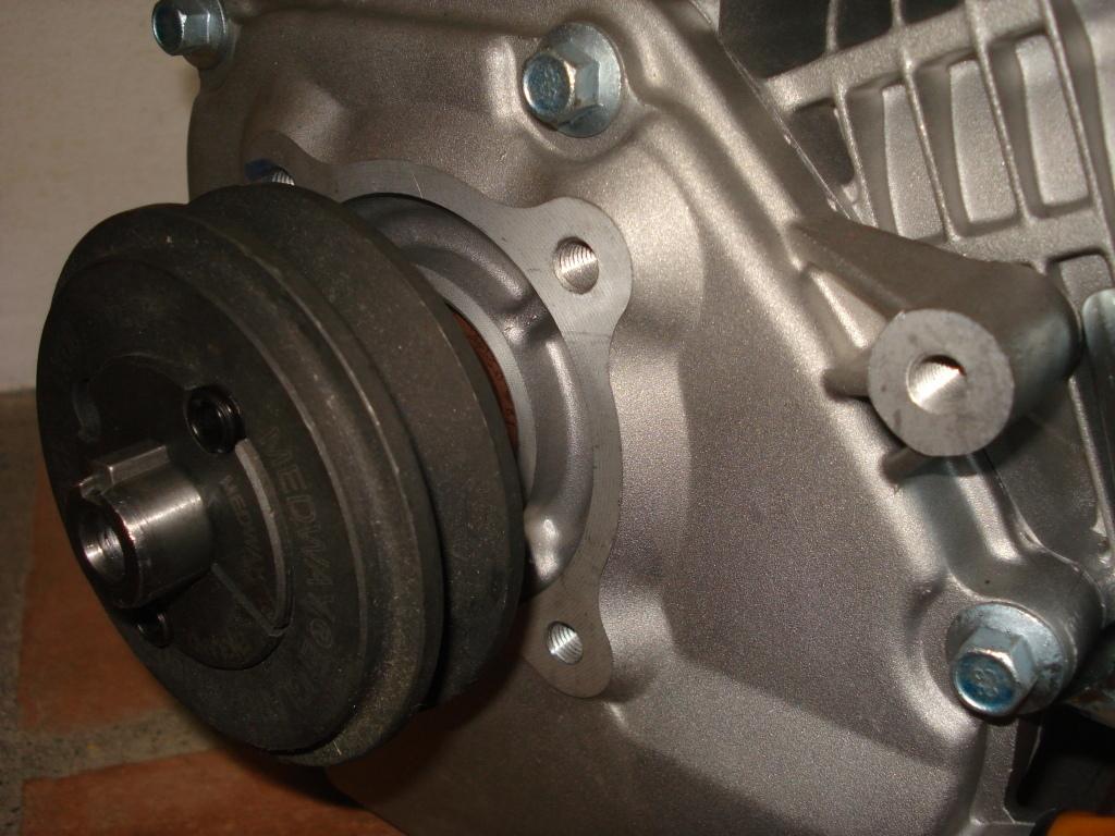 moteur ohv 6 5cv avec poulie pour montage universel