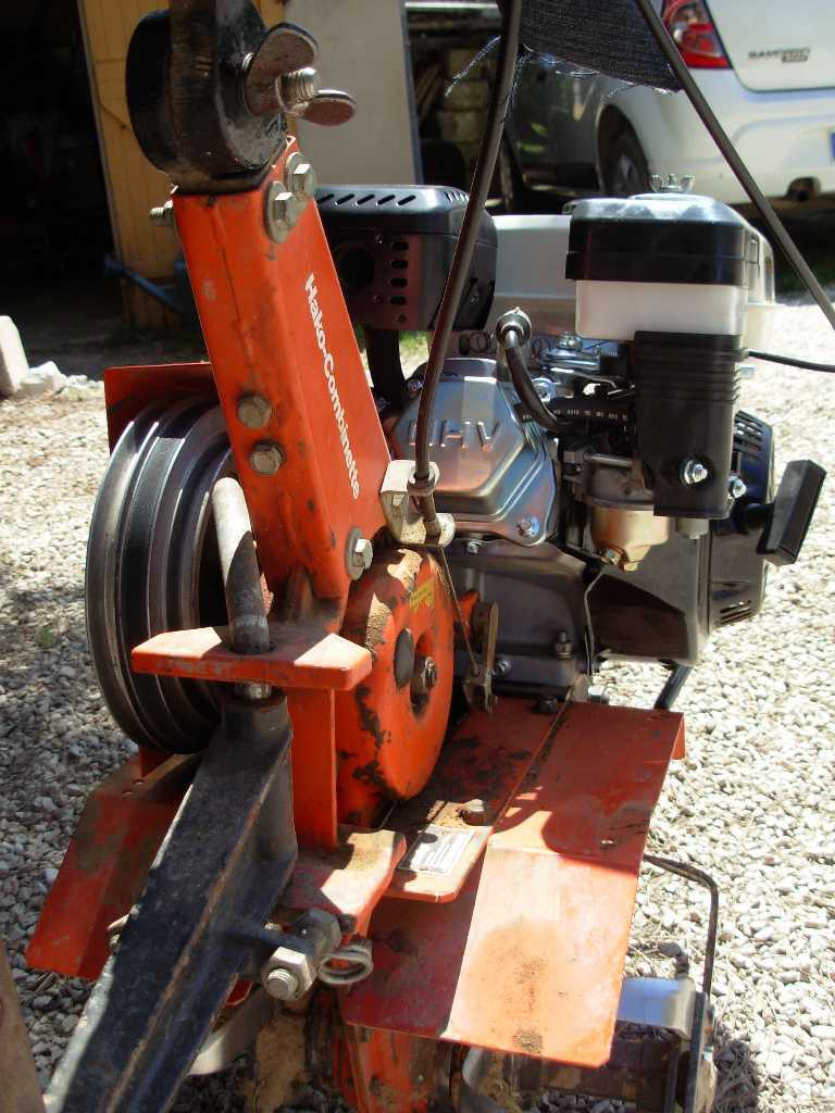 combinette hako  ancien moteur bernard w117bis remplac u00e9